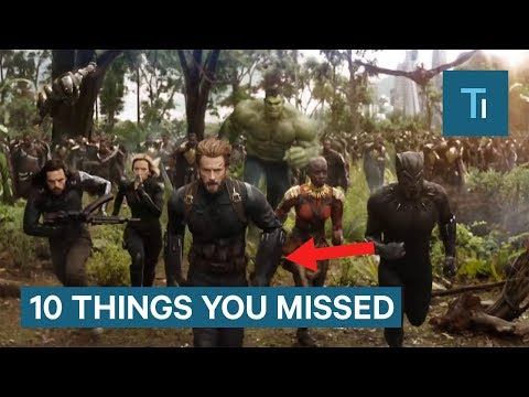 'Avengers: Infinity War' Trailer: 10 Things You Missed