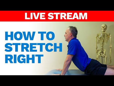 How to stretch right. Understand the correct way to stretch to improve flexibility