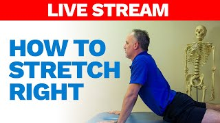 How to stretch right. Undeŗstand the correct way to stretch to improve flexibility