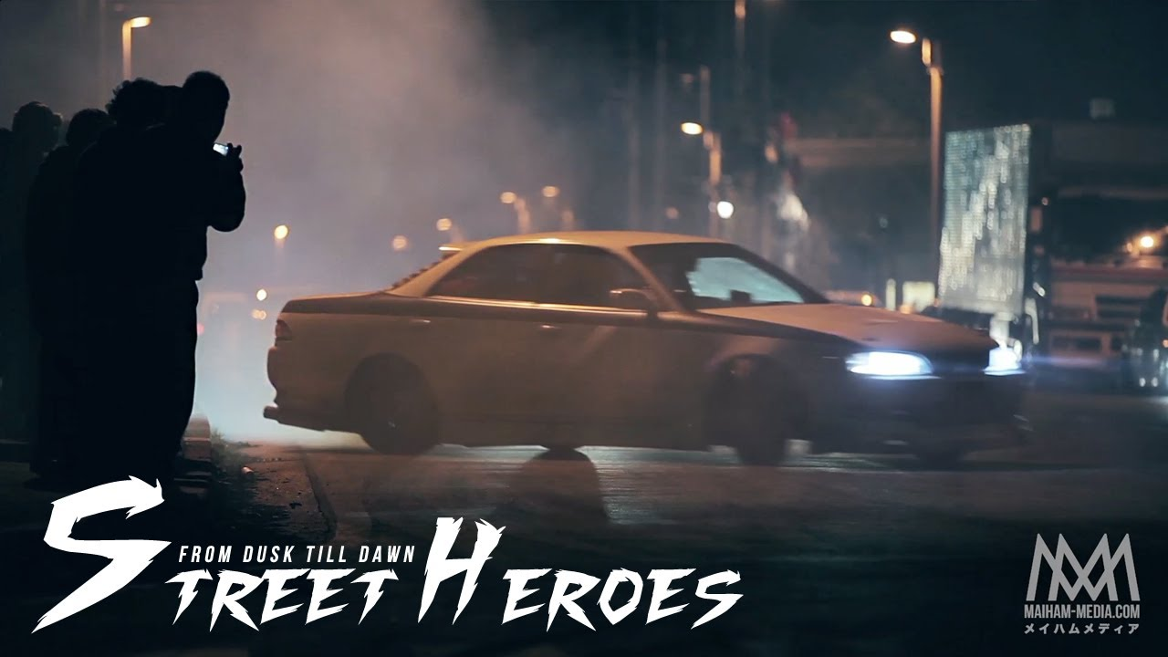 Raw Street Heroes Dusk Till Dawn Illegal Street Drifting Japan