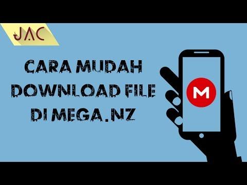 Cara Mudah Download File di Mega.nz via Android [JAC Art Code]