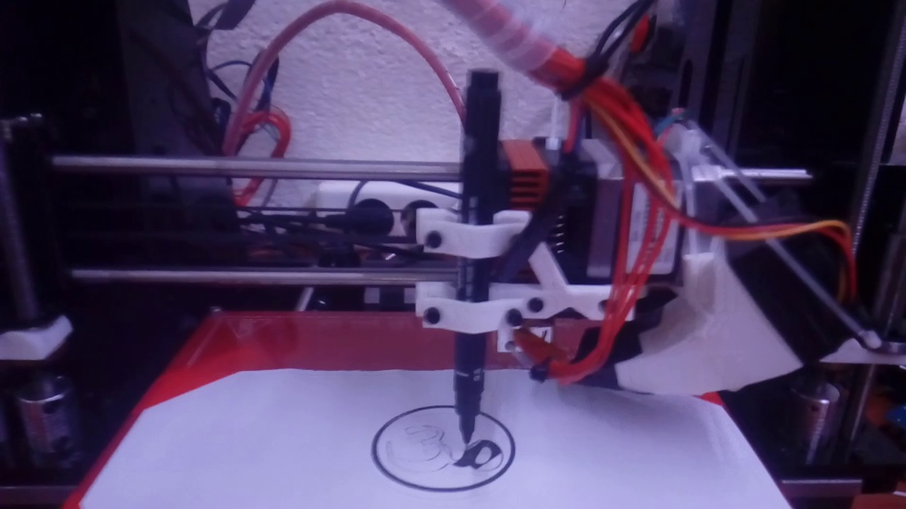Geeetech Prusa I3 Pro B Pen Plotter - Free video search site