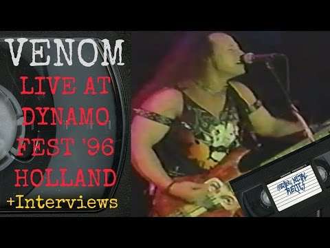 Venom Live at Dynamo Open Air Holland May 25 1996 FULL CONCERT