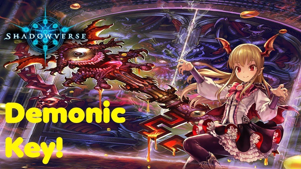 Shadowverse – Demonic key Bloodcraft deck! - YouTube