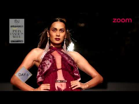 Amazon India Fashion Week Spring Summer 2017  | Day 5