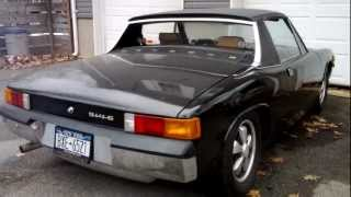 porsche 914 6 winter start up