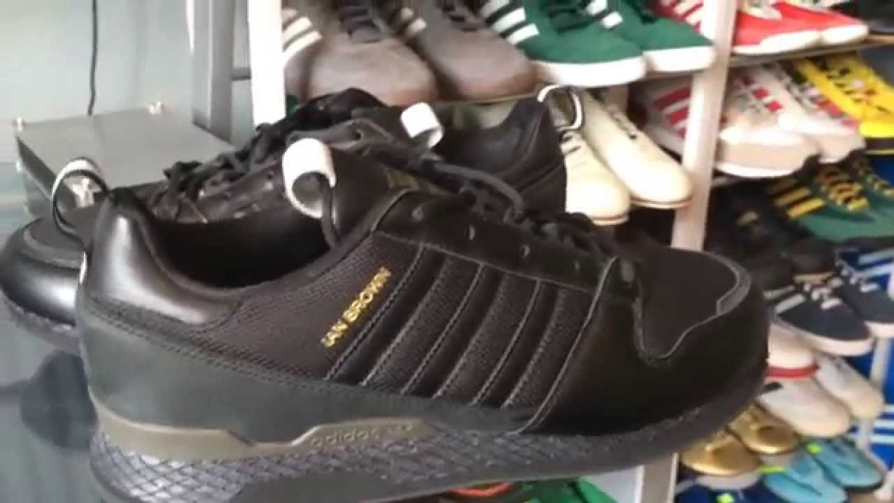 2570bd8e2e076 Up close  Adidas ZX Ian Brown KZK - YouTube