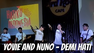 YOVIE AND NUNO DEMI HATI HARD ROCK CAFE JAKARTA