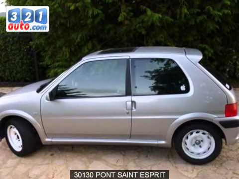 occasion peugeot 106 pont saint esprit youtube. Black Bedroom Furniture Sets. Home Design Ideas
