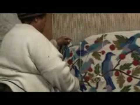 Making A Lesotho Tapestry
