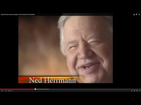 Ned Herrmann Discusses Origins of Whole Brain® Thinking Model