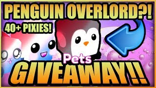 Live Bubble Gum Simulator Giveaway 🐧 PATRIOTIC PENGUIN OVERLORD + PIXIES + NEW PETS (Roblox 2019)