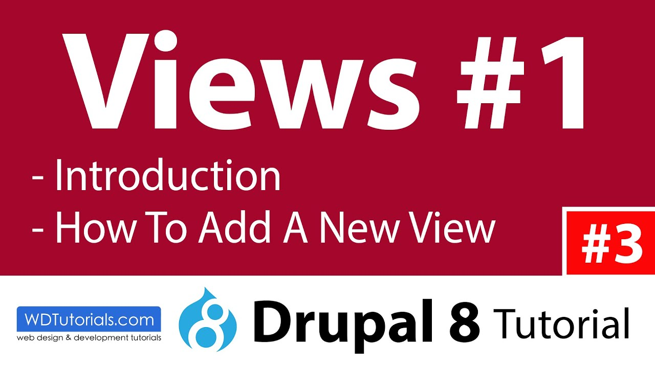Drupal 8 - How To Create Slideshows With Views Slideshow module