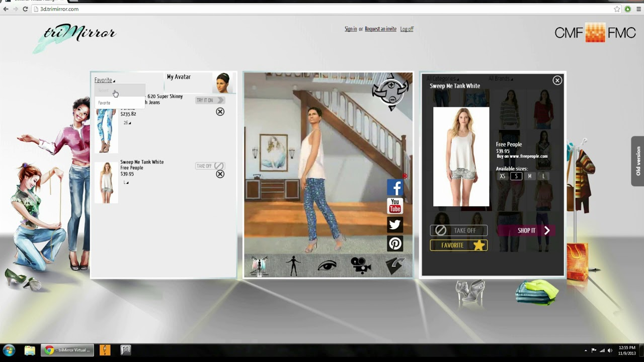 Virtual Fitting for Ecommerce