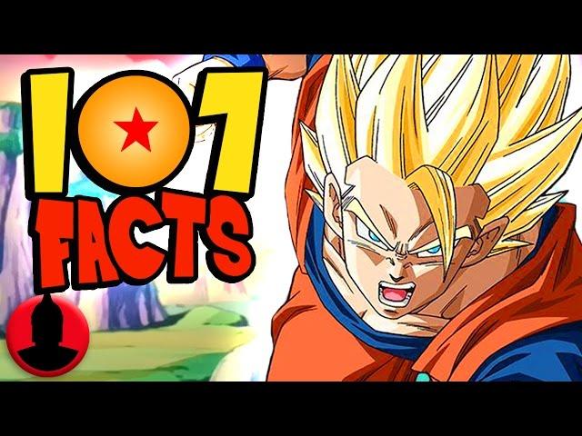 107 Dragon Ball Z Facts YOU Should Know! - ToonedUp @CartoonHangover