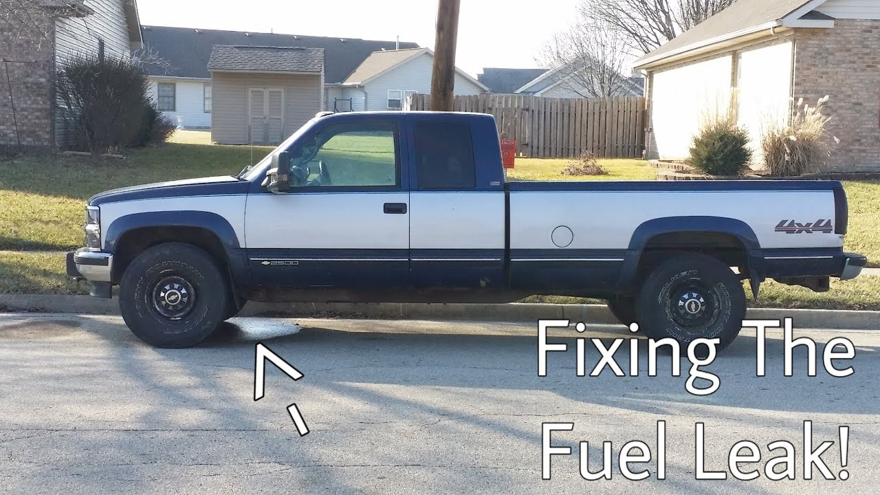 how to replace fuel return lines 6 5l turbo diesel!