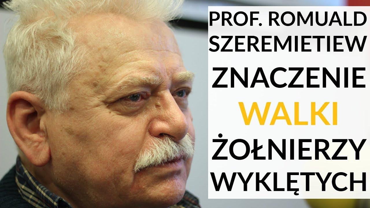 Prof. Szeremietiew: Solidarności nie byłoby, gdyby nie walka Żołnierzy Wyklętych