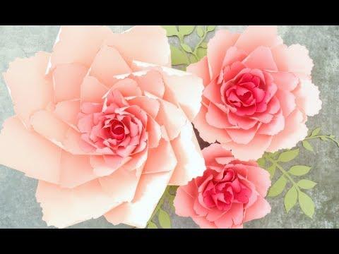 Giant Paper Peony Flower Tutorial