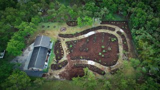 2-Acre Tropical Food Forest Project: Start to Finish