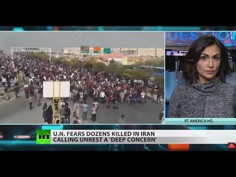 UN calls Iran unrest a 'deep concern,' fears dozens killed