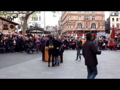 """Saving Mr Banks"" Flash Mob,  Odeon Leicester Square"