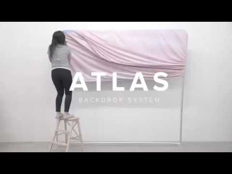 Best Photobooth Backdrop Stand - Atlas System
