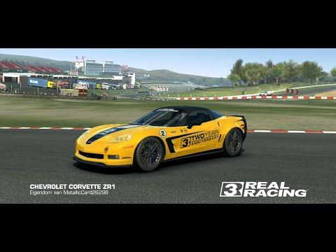 Real Racing 3 Corvette Melbourne