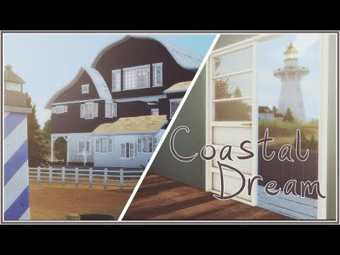 SIMS 4 | COASTEL DREAM- PART 2/2 -FURNISHED [SLIDESHOW & DOWNLOAD+CC]