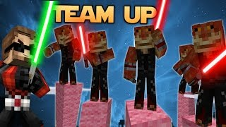 May the Fourth be with you!  MINECRAFT STARWARS Team-Up! (Minecraft Bed Wars Roleplay)
