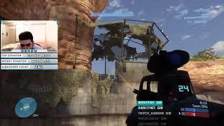Insane Sweaty Gameplay vs. 4 50's in Team Slayer Halo 3 MCC