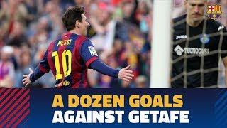 Six Barça goals in each of the last two games vs Getafe at Camp Nou