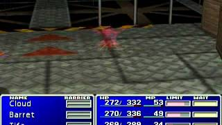 NVC : Final Fantasy VII Ultima Edition Test Game Play