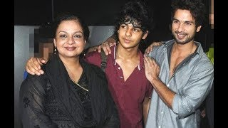 Shahid Kapoor begged mom for two or three years for brother Ishaan Khatter