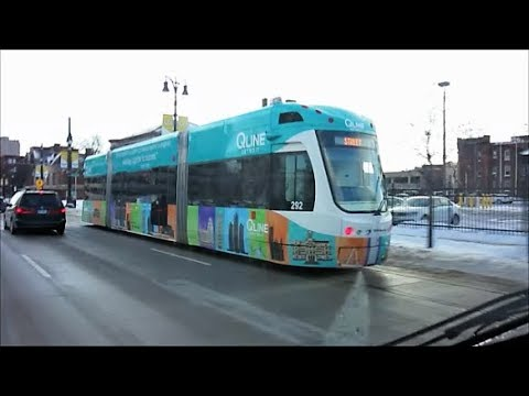 DOWNTOWN / MIDTOWN DETROIT, STADIUMS, Q LINE LIGHT RAIL