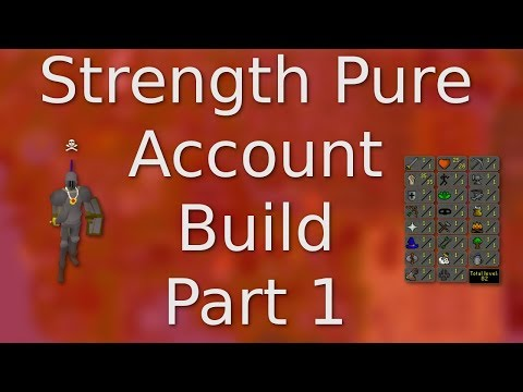 [OSRS] How to Create a F2P Strength Pure for PKing