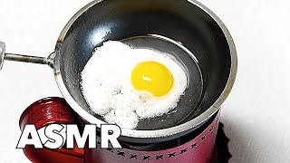 BE CAREFUL WITH FIRE! - Fried Eggs and Boiled Eggs 4K Tiny Food Mini Food Pocket Cooking ミニチュア 料理