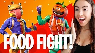 New FOOD FIGHT Game Mode! (Fortnite Battle Royale)