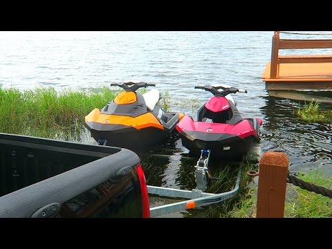 Girlfriend Jetski Surprise!
