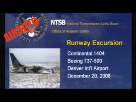 Continental Airlines Flight 1404 Runway Excursion NTSB Sunshine Meeting