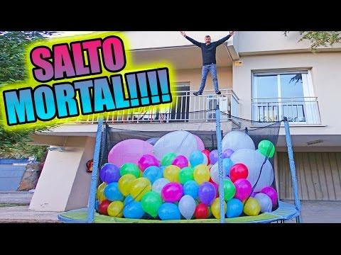 SALTO MORTAL EN CAMA ELASTICA!!!     ·VLOG·