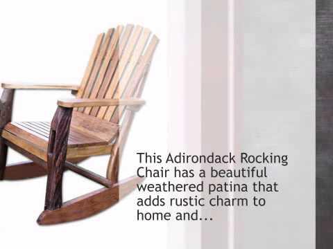 Adirondack Rocking Chair - lonestarwesterndecor.com