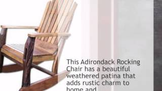 Adirondack Rocking Chair - Lonestarwesterndecor.com