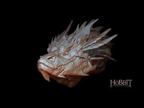 speed modeling Smaug in Zbrush