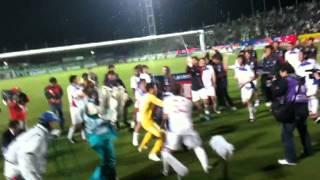 2011年J1リーグFC東京J1昇格の瞬間から大熊監督の胴上げ、選手たちの芸...