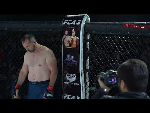 Назим Абасов (РОССИЯ) Vs Крис Солман (КАМЕРУН)  FCA 3 ДЕРБЕНТ
