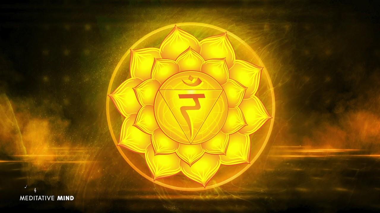 SOLAR PLEXUS CHAKRA Healing Music || Unlock your Inner Power || Hang Drum Edition