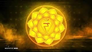 SOLAR PLEXUS CHAKRA Healing Music    Unlock your Inner Power    Hang Drum Edition