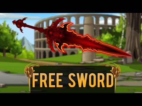 =AQW= How To Get A FREE Sword {Non Member} 2015/2017 (Burning Blade)