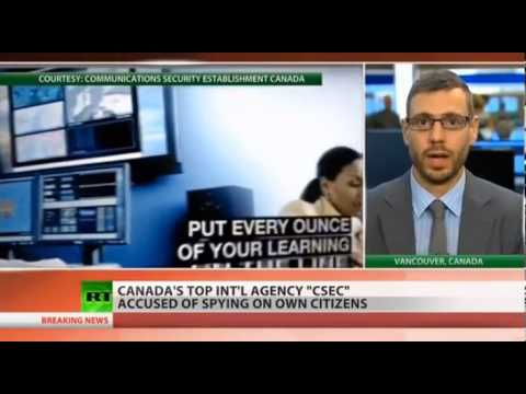 OpeMedia's Steve Anderson speaks about citizen activism against mass spying by CSEC and the NSA