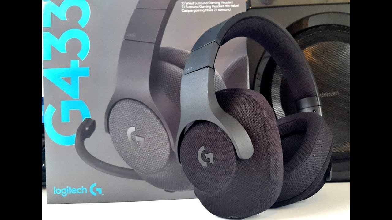 Logitech G433 Gaming Headset Review Dts 7 1 Surround Sound For 99